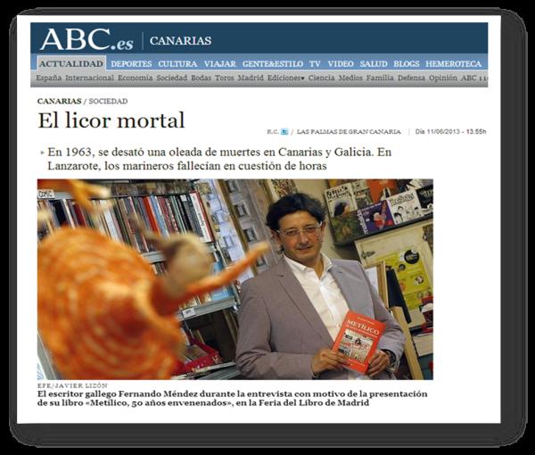ABC Canarias - Fernando Méndez